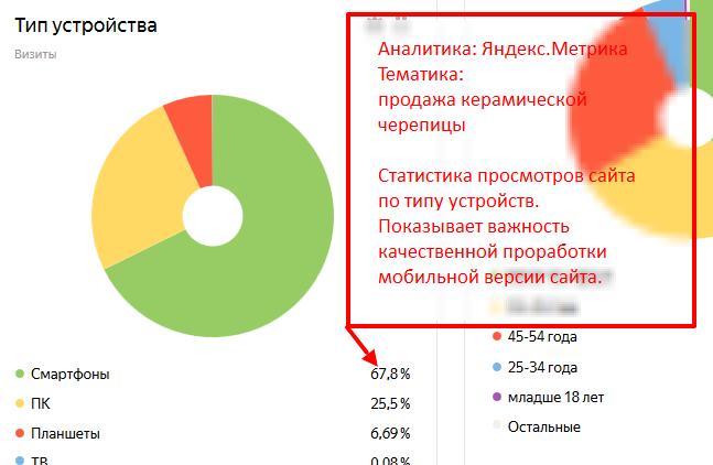 Пример важности наличия мобильной версии сайта